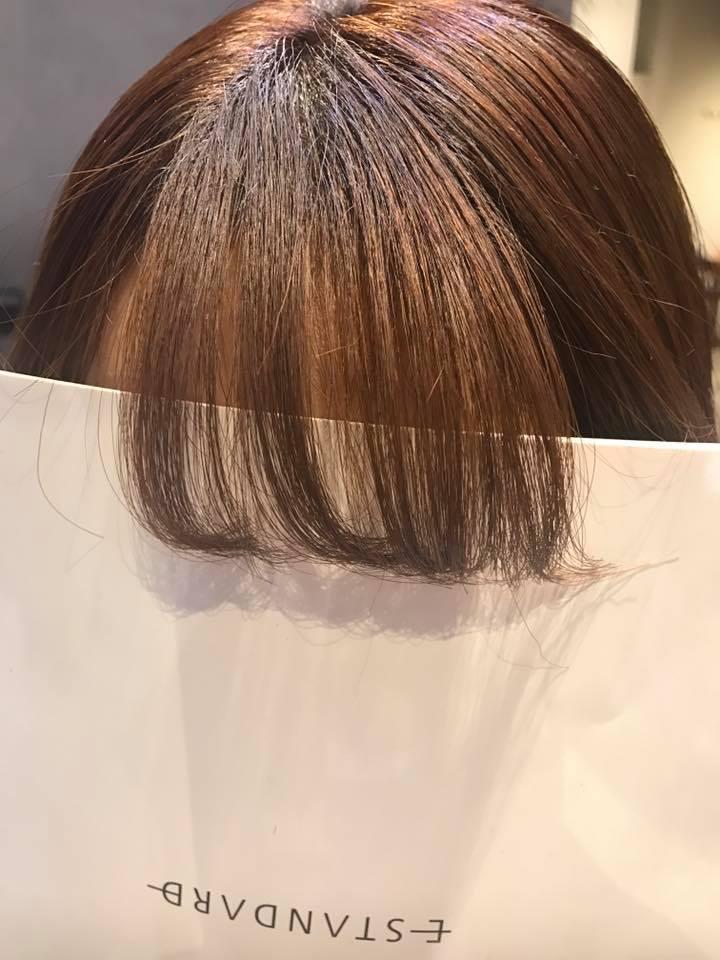 前髪ストレートのこだわり。