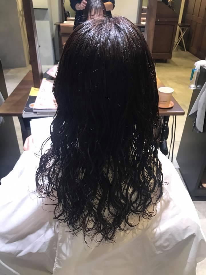 細毛軟毛でパーマがかかりづらい理由。施術写真